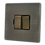 Screwless Antique Bronze Fused Spur Switches